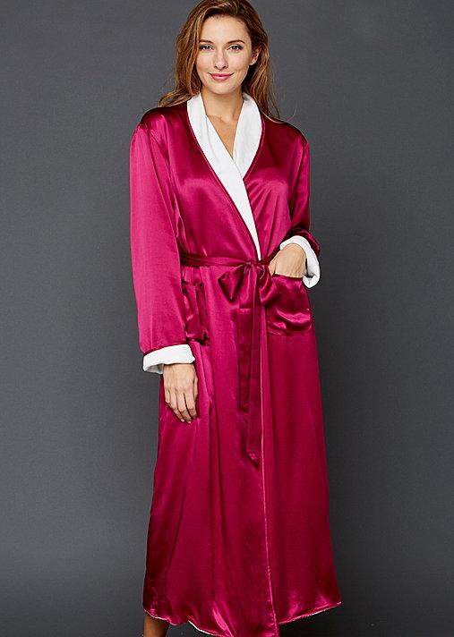Il Cieli Spa Robe - Silk Women's Spa Robe