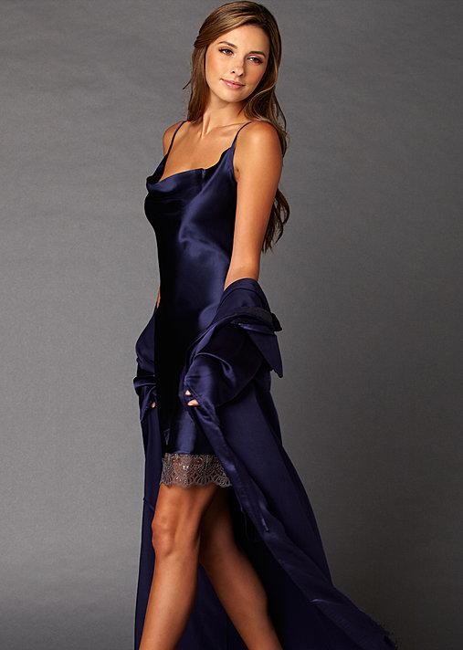 8b46aefa52 Camille Silk Chemise. Purple. Purple. Purple. Blue