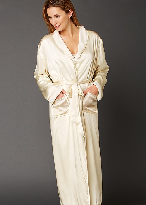 Il Cieli Spa Robe - Reversible Women's Spa Robe