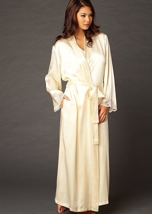 Luxury Silk Womens Robe, Indulgence Silk Robe