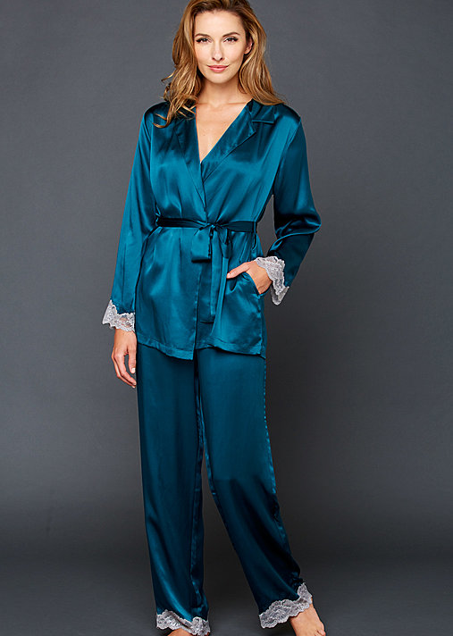 Indulgence Silk Wrap Pajama - Luxury Silk Pajama