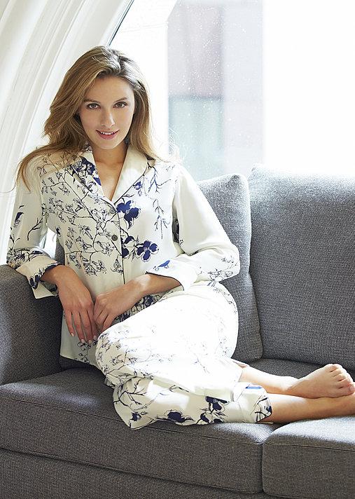 Natalya Silk Pajamas Petite - Women's Silk Pajamas, Pure Silk PJ
