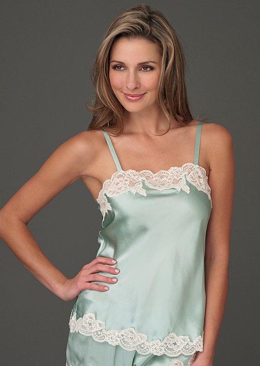 Silk Tresor Camisole - Ladies Silk Cami, 100% Silk Camisole