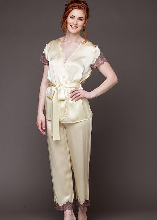 St. Barts Silk Wrap Pajama