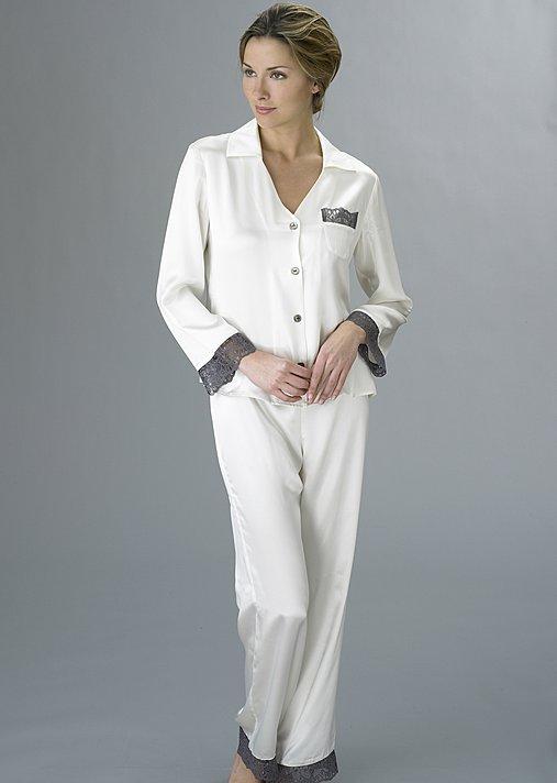 Bonsoir Silk Pajama Petite - Silk Pajama