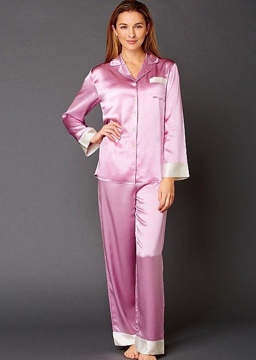 Evening Lounge Silk Pajama - 100 pct Silk Pajama, Women's Pajama