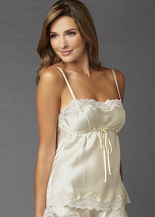 Sweet Indulgence Camisole Top - Women's Cami, Pure Silk Camisole