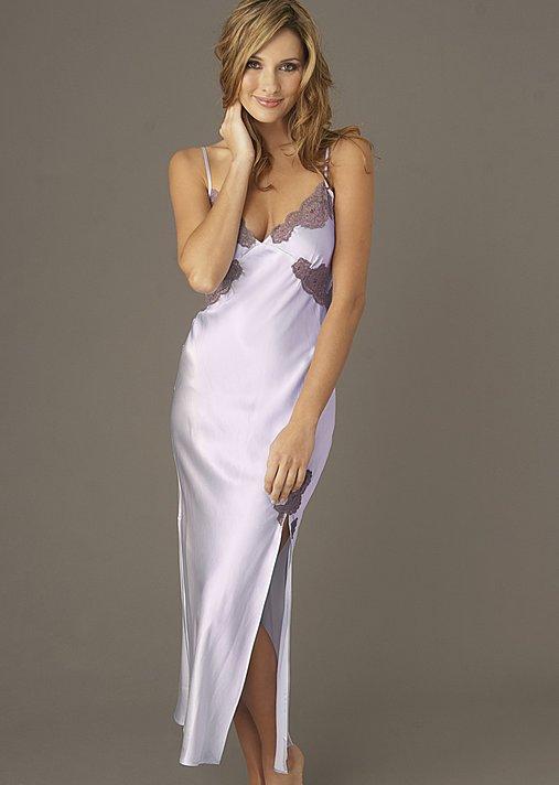 Le Tresor Silk Gown - Silk Long Nightgown