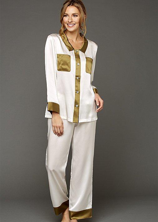 My Newest Crush Silk Pajamas