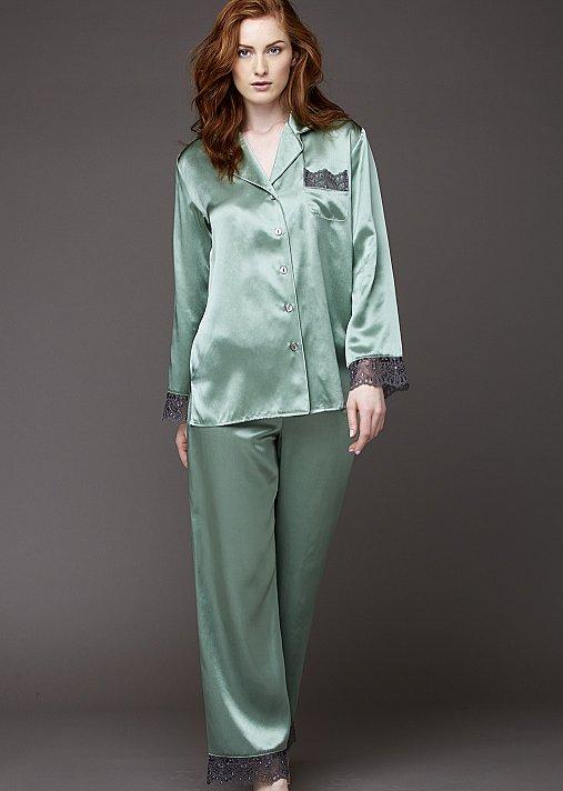 Sleep-In Silk Pajama Petite - Short Luxury Silk Pajama
