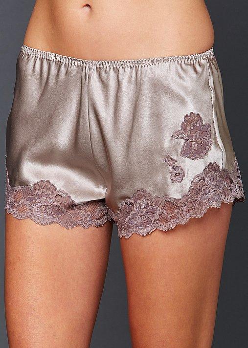 Indulgence Silk Tap Pant - Luxury Lingerie