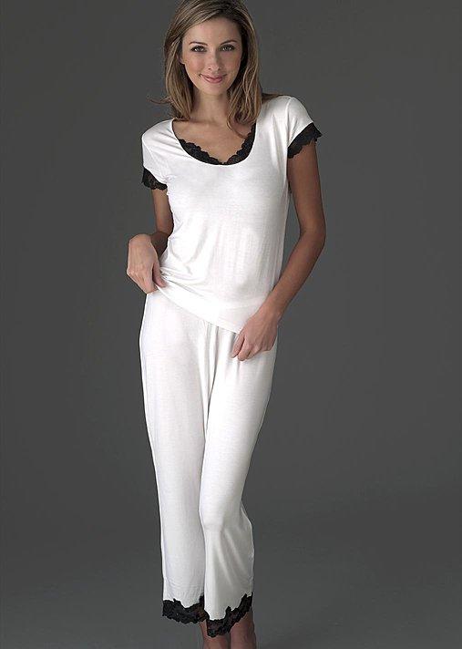 Comfortable breathable micromodal pajamas, Giselle Pajamas