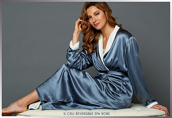 luxury silk robes - the perfect present