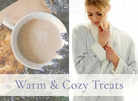 wrap your sweetheart in cozy treats