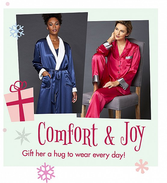 luxurious sleepwear - comfort and joy