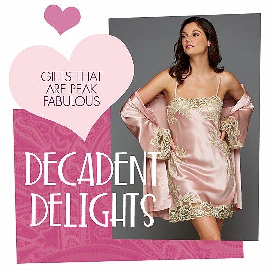 luxury silk sleepwear to wow her!