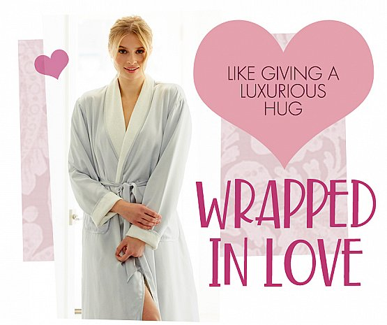 wrap your sweetheart in a cozy hug