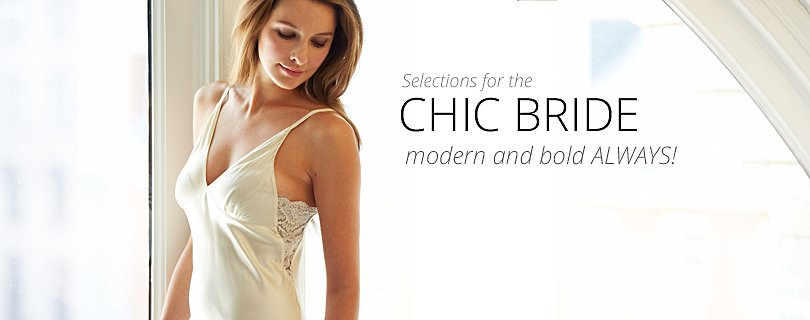 Gift Selections for the Chic Bride