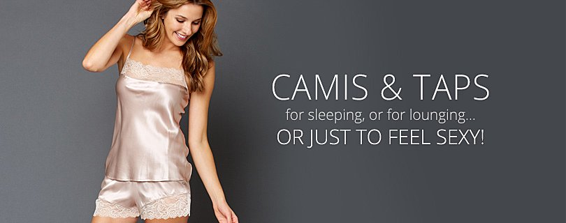 Luxury Camisoles, Silk, Cotton Lingerie