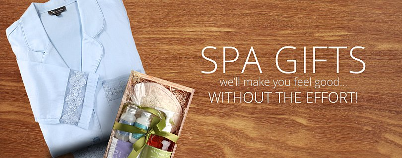 Spa Gift Baskets, Luxury Spa Robes