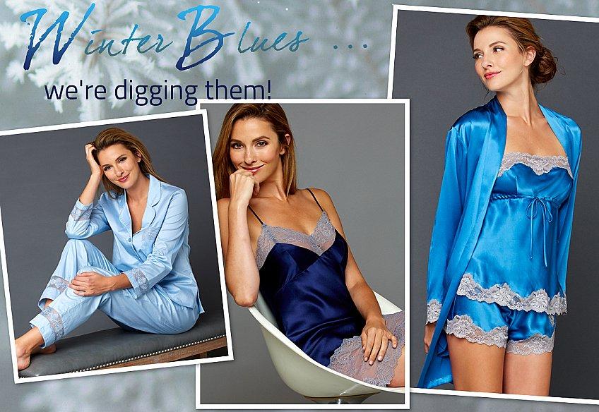 luxury lingerie and sleepwear always in style