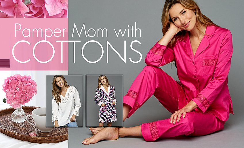 all natural fabulous cotton sleepwear - on sale now