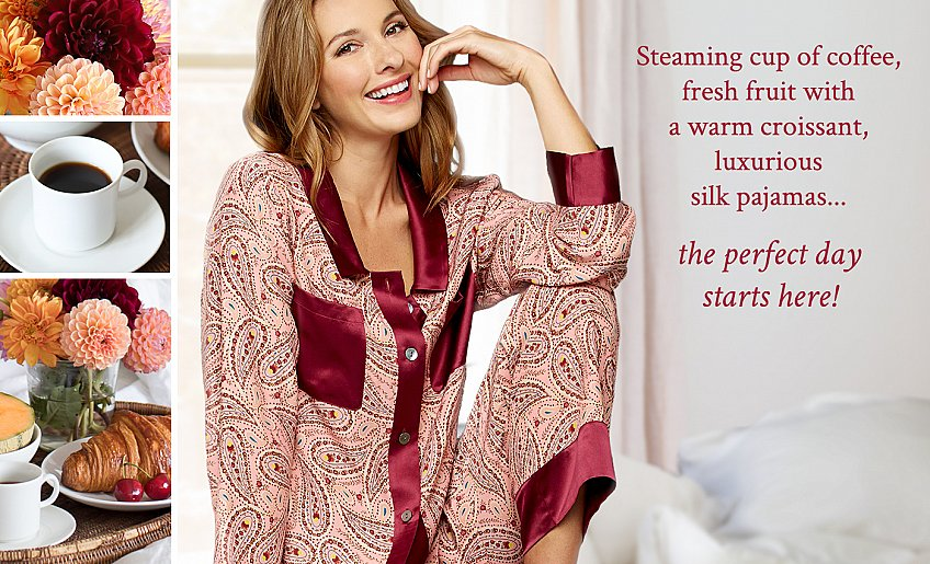 gorgeous luxurious sleepwear!