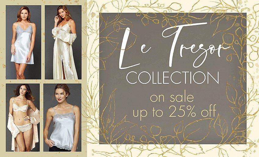 Le Tresor Collection on sale!