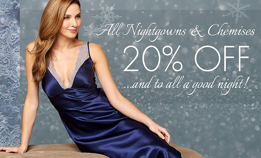 get holiday ready-all nightgowns on sale