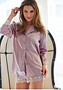 Le Soir Silk Sleep Shirt
