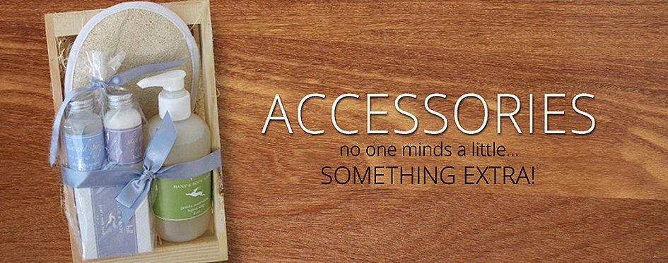 Accessories, Spa Gifts