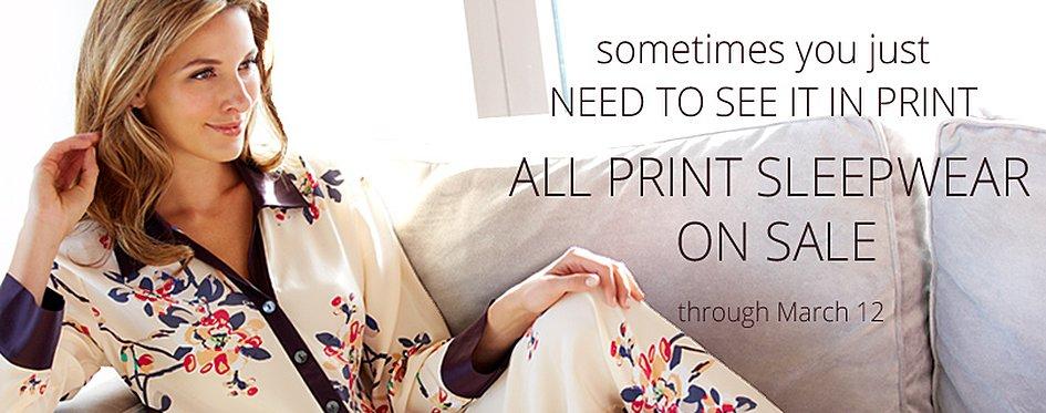 Printed Silk the Ultimate Luxury