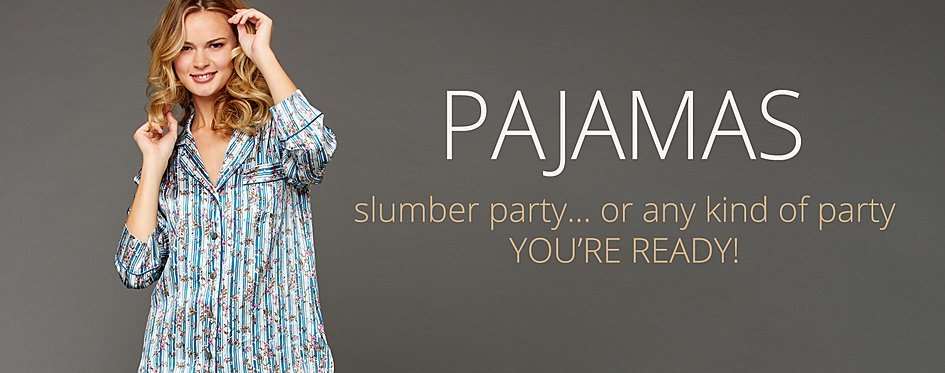 Women's Silk Pajamas: Sexy PJs in Silk and Cotton