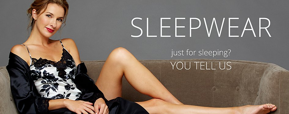 Sleepwear for Women: Finest Silk and Cotton PJs
