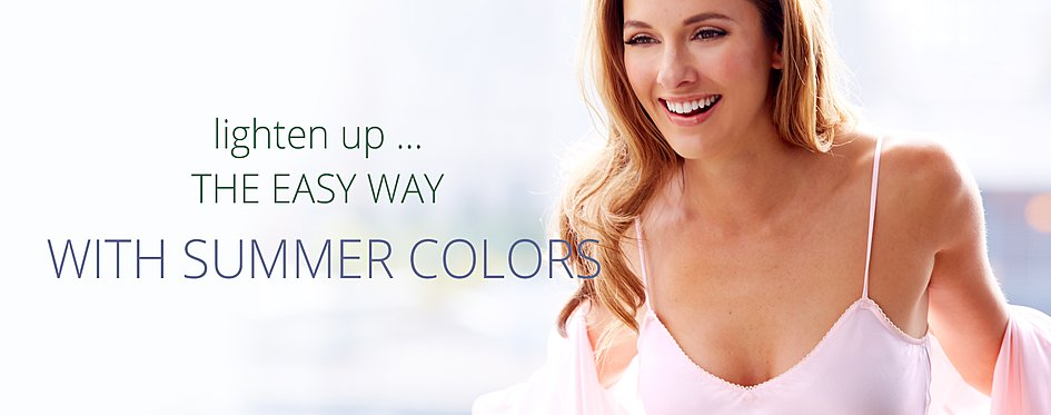 lighten up in fresh colors