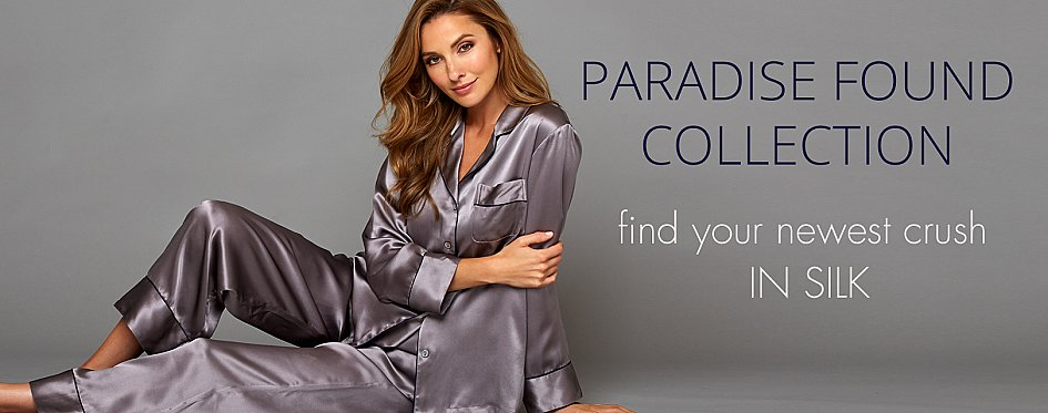 Paradise Found Silk Sleepwear