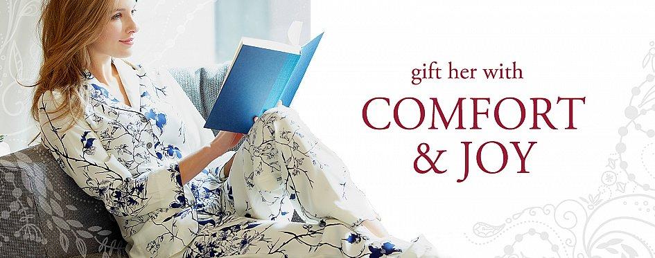 Holiday pajama gift selections