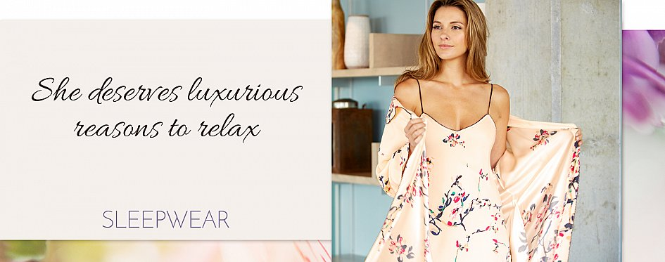 Sleepwear for Women: Finest Silk and Cotton PJs