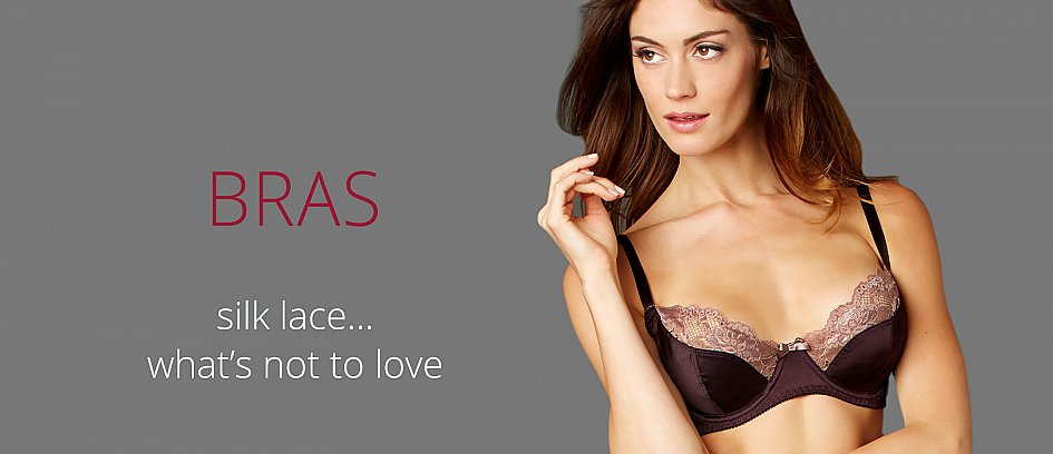 Designer Bra Styles, Full and Demi Cup