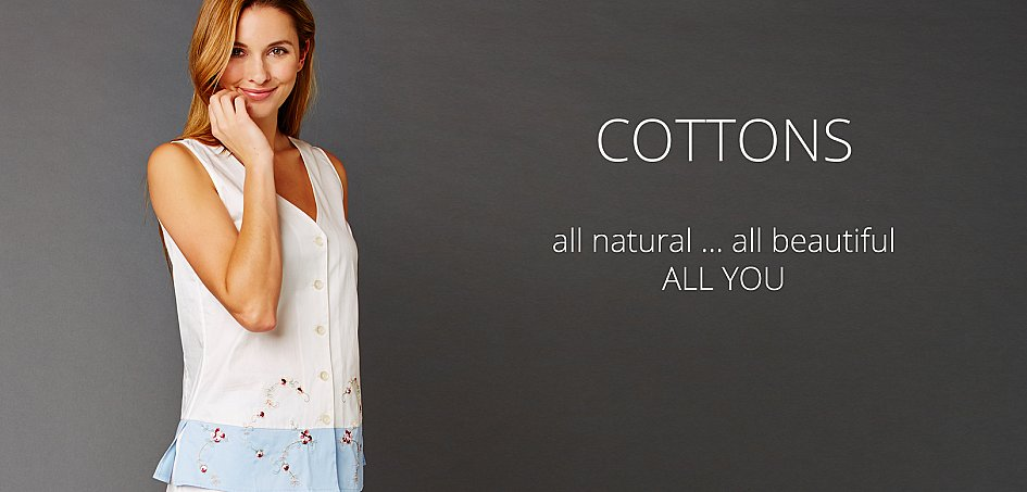 luxury comfortable cotton sleepwear