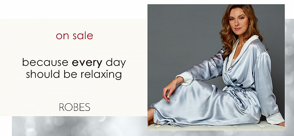 Luxury Silk Robes, Long and Short for Women