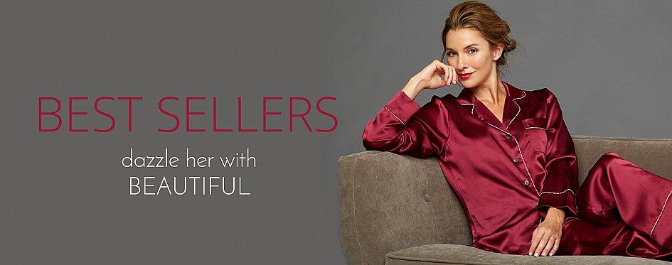Best-Selling Silk Robes and Sleepwear