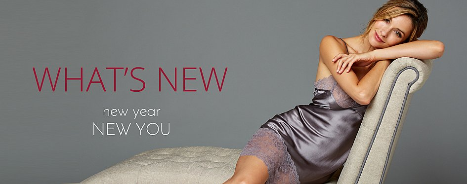 See What's New in Fine Sleepwear Styles