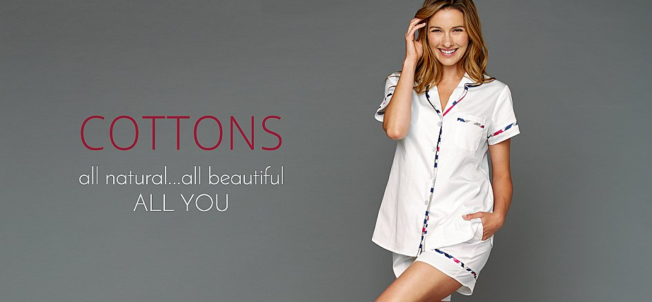 Lightweight Pure Cotton Sleepwear