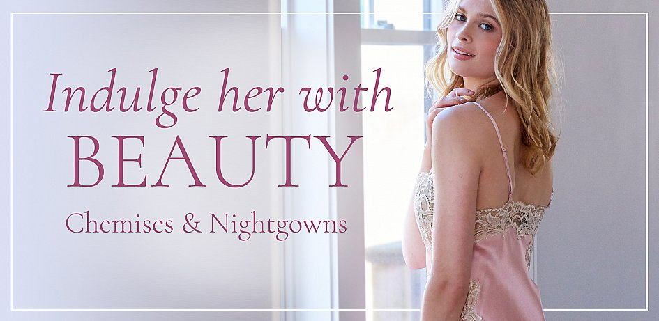 Luxury Silk Nightgowns, Silk Chemises