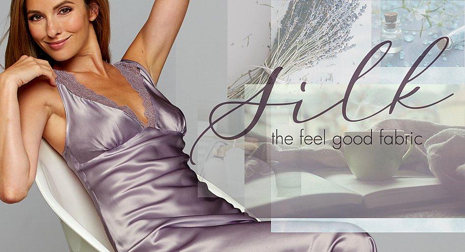 Luxury Silk Lingerie and Sleepwear
